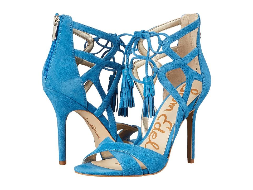 Sam Edelman Aimes (Suede Malibu Blue) High Heels