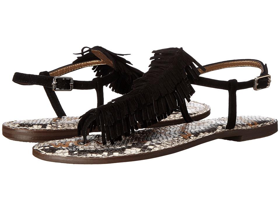 Sam Edelman - Gela (Suede/Black) Women's Sandals