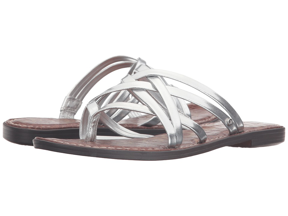 Sam Edelman Georgette Metcrom-Soft Silver Womens Sandals