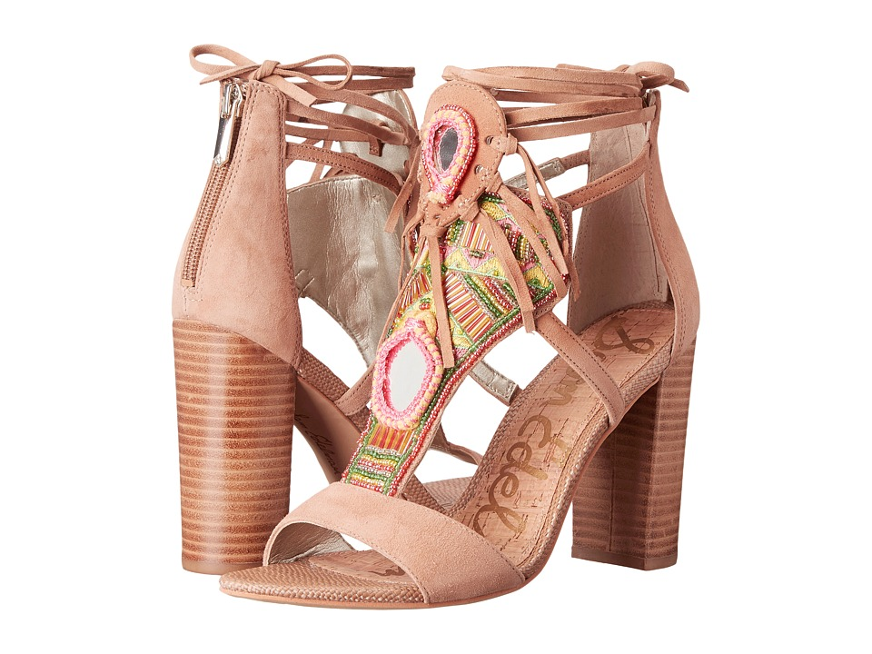 Sam Edelman Yvette (Suede/Golden Caramel) High Heels