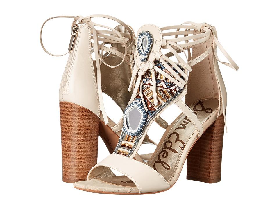 Sam Edelman - Yvette (Vaqero Saddle Leather/Modern Ivory) High Heels