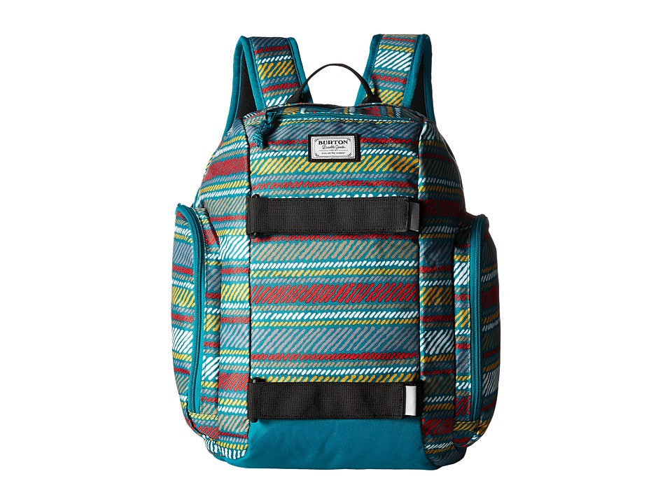 Burton - Metalhead Backpack (Little Kid/Big Kid) (Paint Stripe Print) Backpack Bags