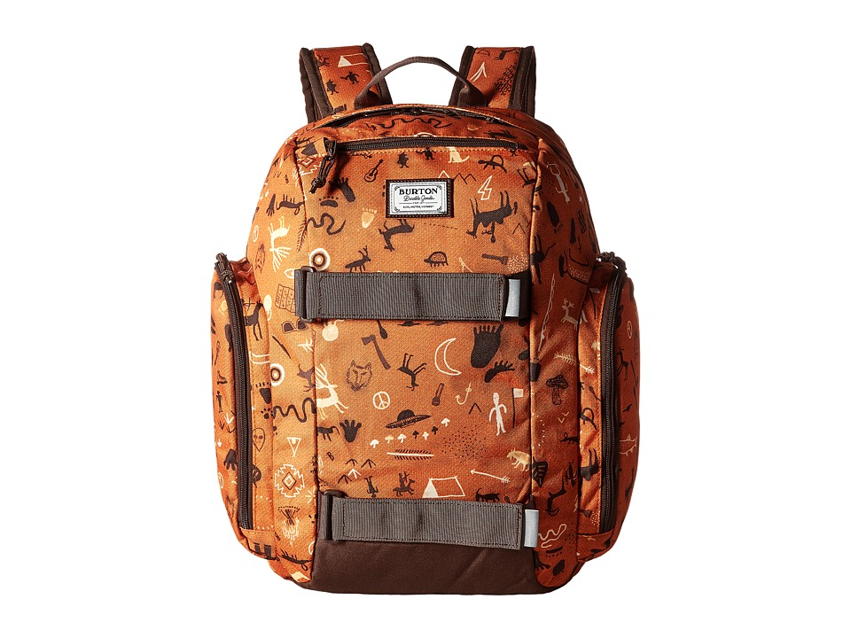 Burton - Metalhead Backpack (Little Kid/Big Kid) (Caveman Print) Backpack Bags