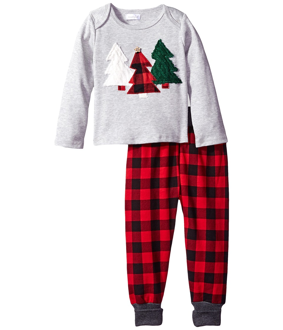 Mud Pie - Alpine Multi-Tree Two-Piece Set (Infant) (Grey) Boy's Active Sets