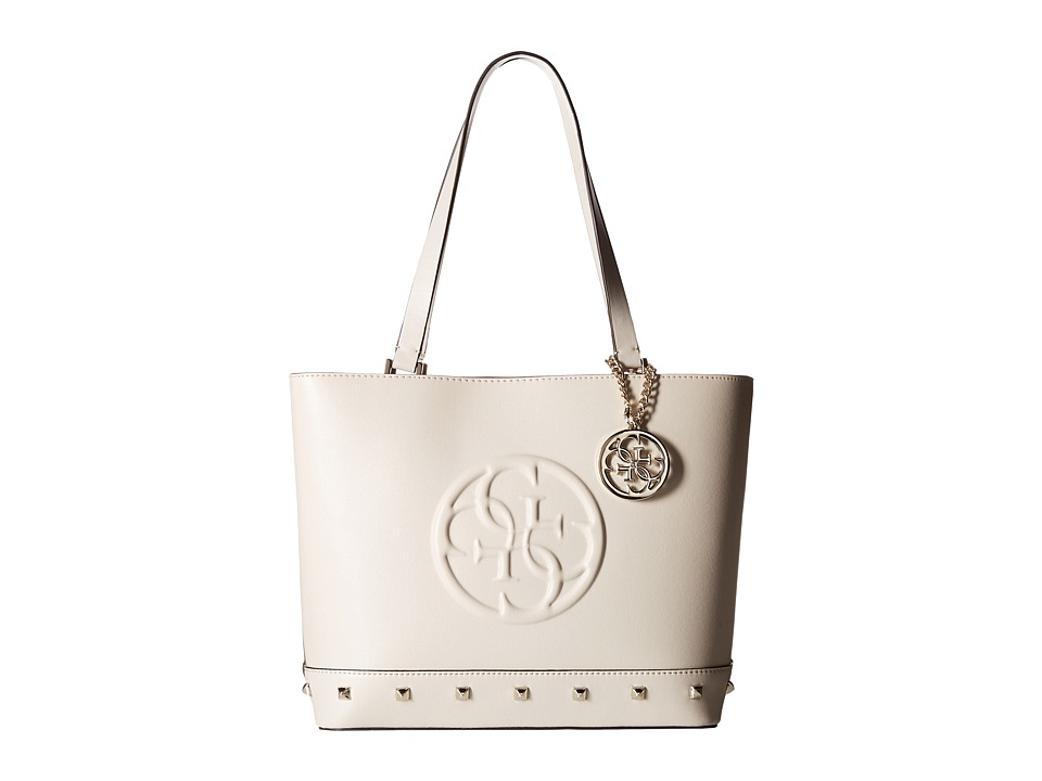 GUESS - Korry Shopper (Bone) Handbags