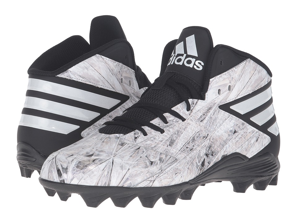 adidas - Freak MD (White/White/Platinum) Men's Shoes