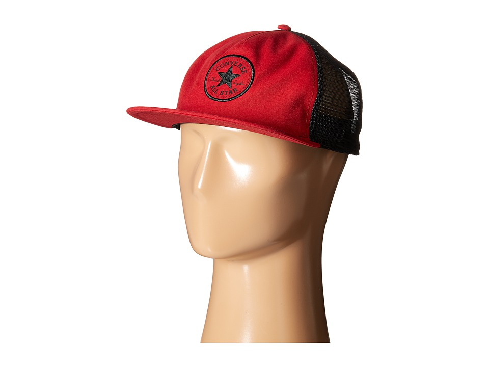 Converse - Core Canvas Trucker (Casino Red) Caps