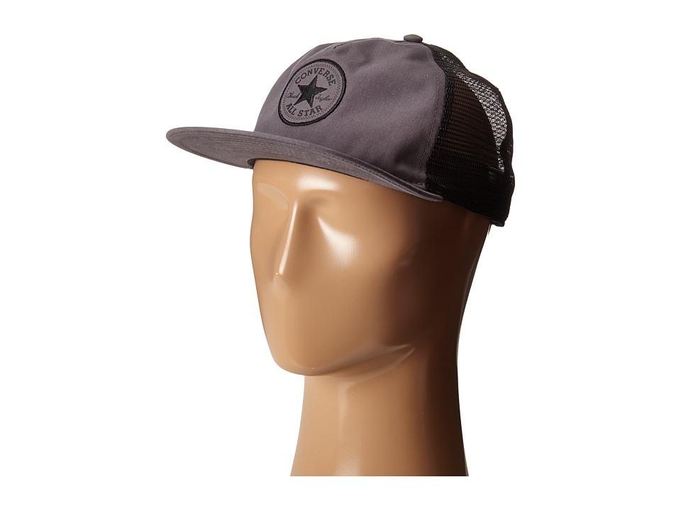 Converse - Core Canvas Trucker (Black) Caps