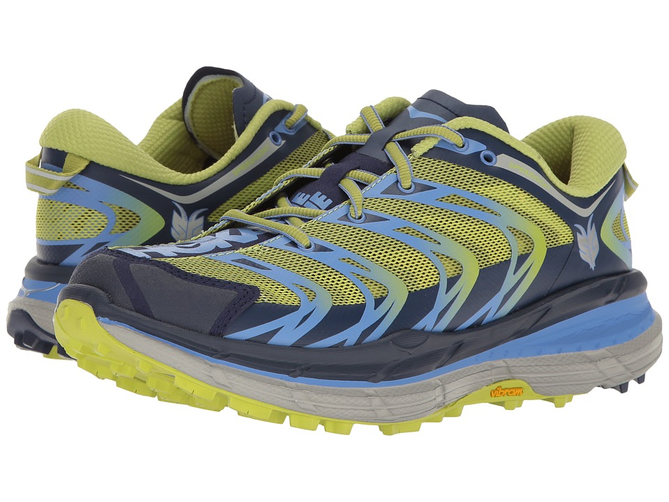 Hoka One One - Speedgoat (Medieval Blue/Green Glow) Women's Running Shoes
