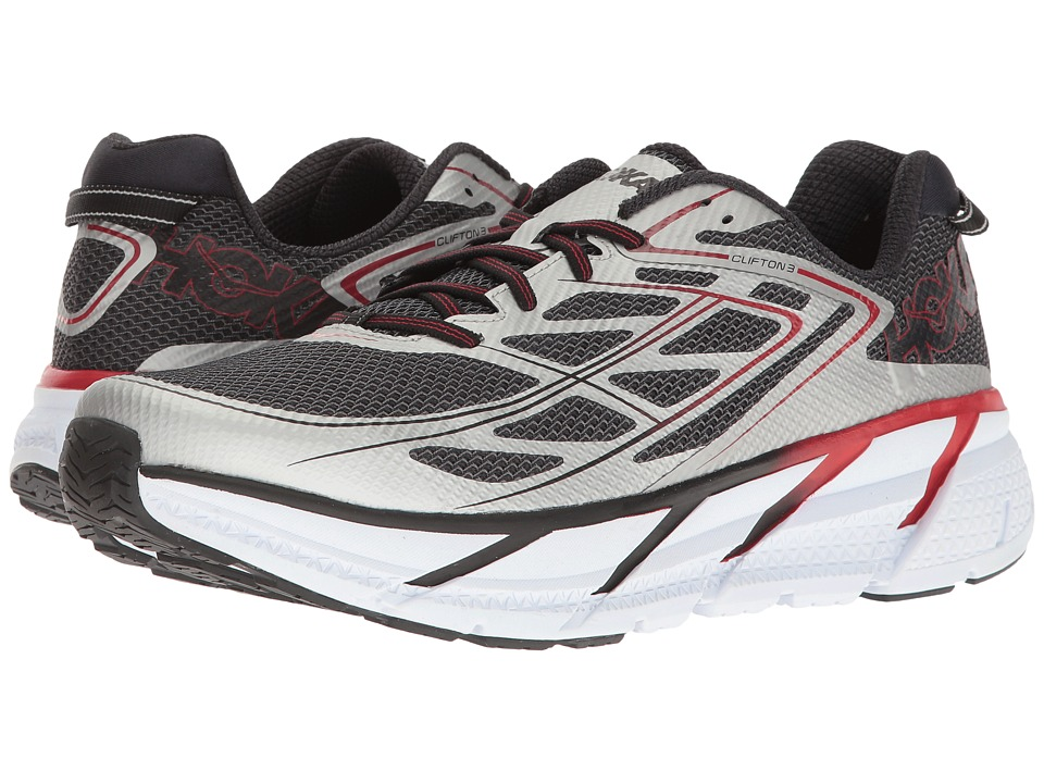 Hoka One One - Clifton 3 (Silver/Formula One) Men's Shoes