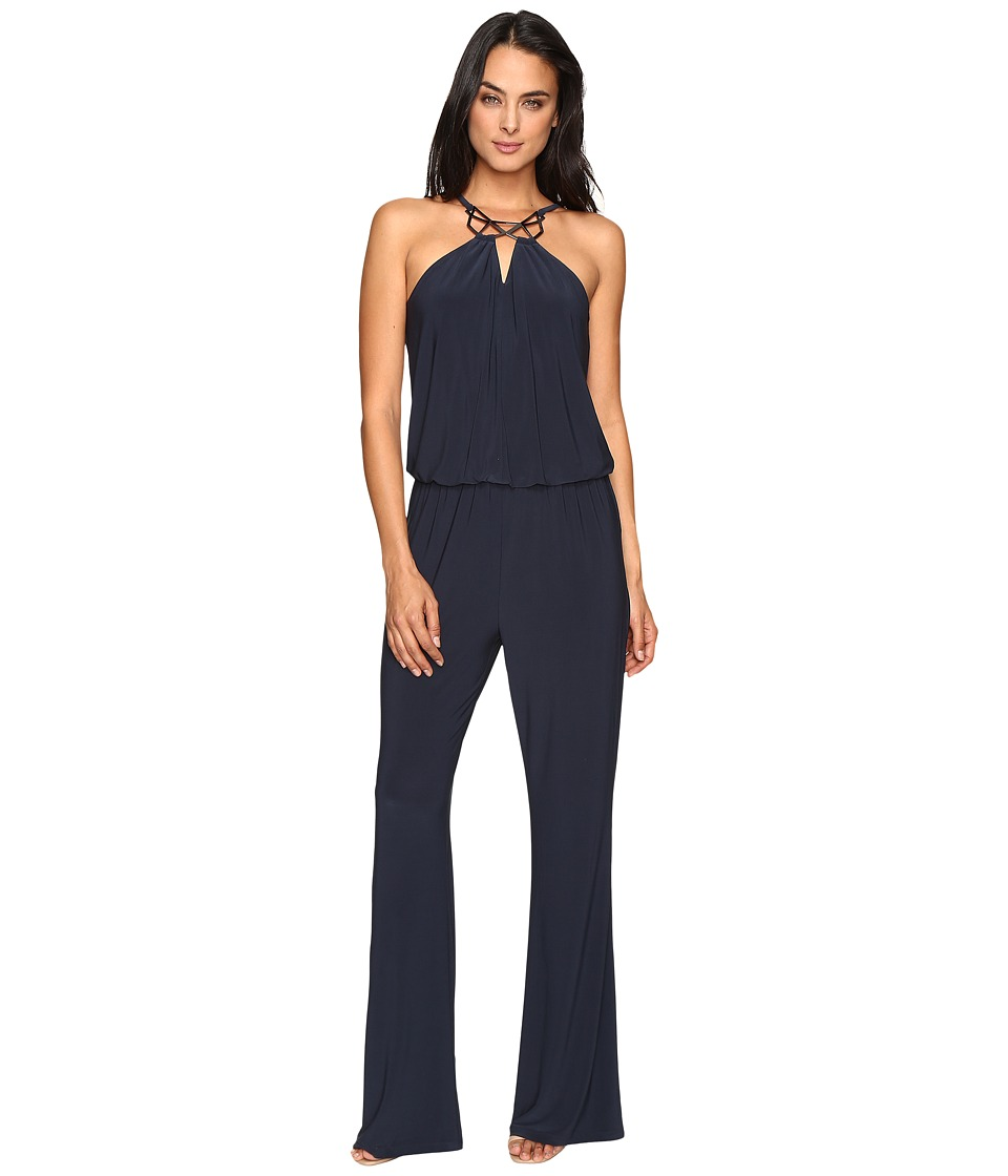 Laundry by Shelli Segal - Sleeveless Jumpsuit (Dark Sapphire) Women's Jumpsuit & Rompers One Piece