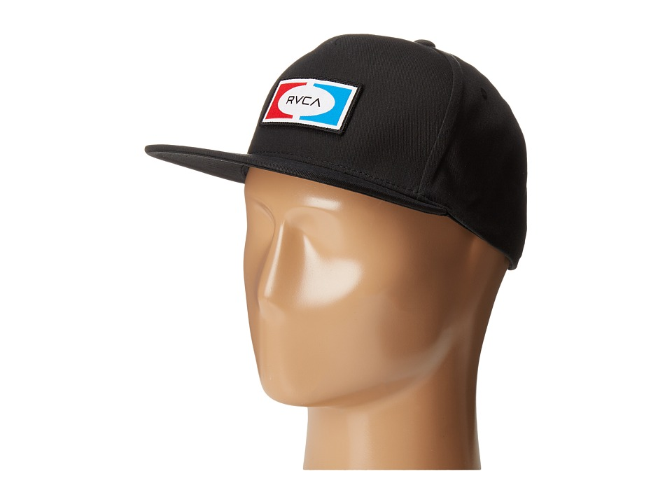 RVCA - Breez Snapback (Black) Caps