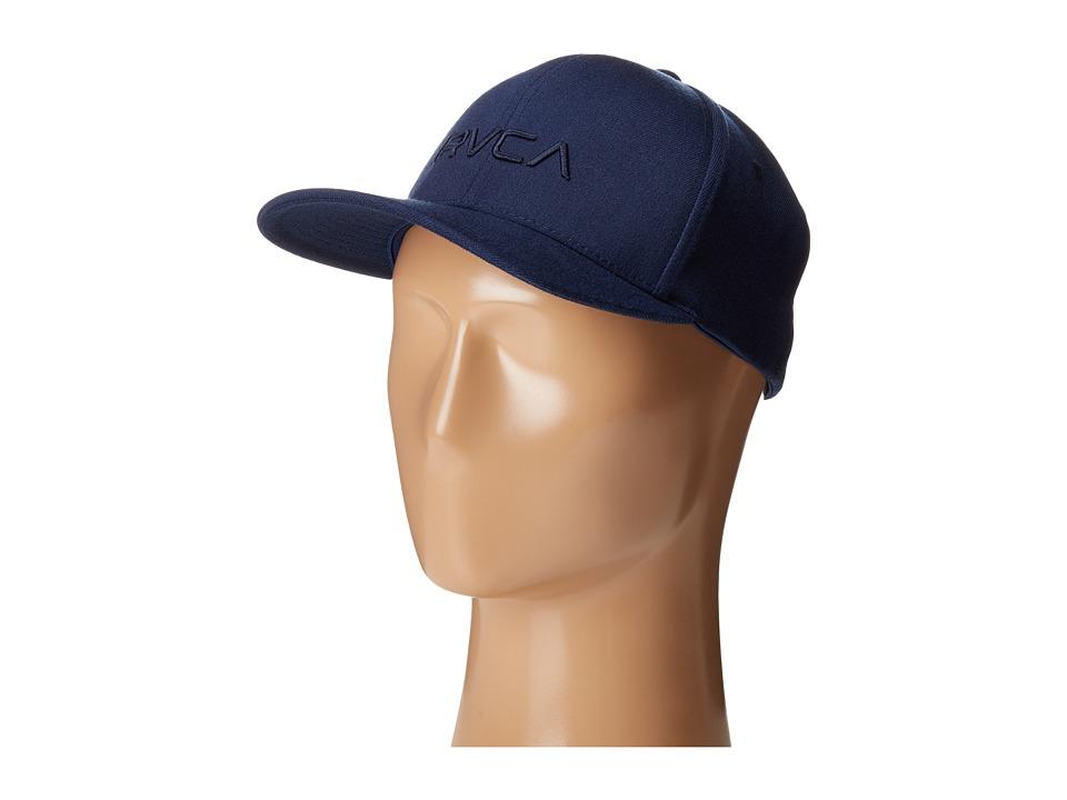 RVCA - Flex Fit (Navy) Caps