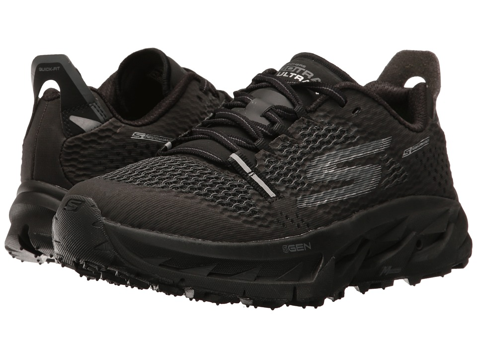 SKECHERS - Go Trail Ultra 4 (Black) Women's Running Shoes