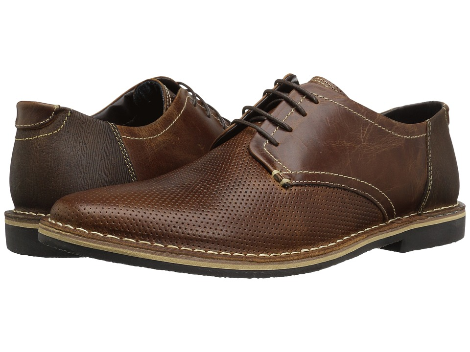 Steve Madden - Heywire (Cognac) Men's Lace up casual Shoes
