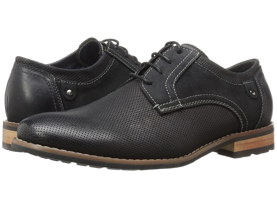 Steve Madden - Cherp (Black Nubuck) Men's Lace up casual Shoes