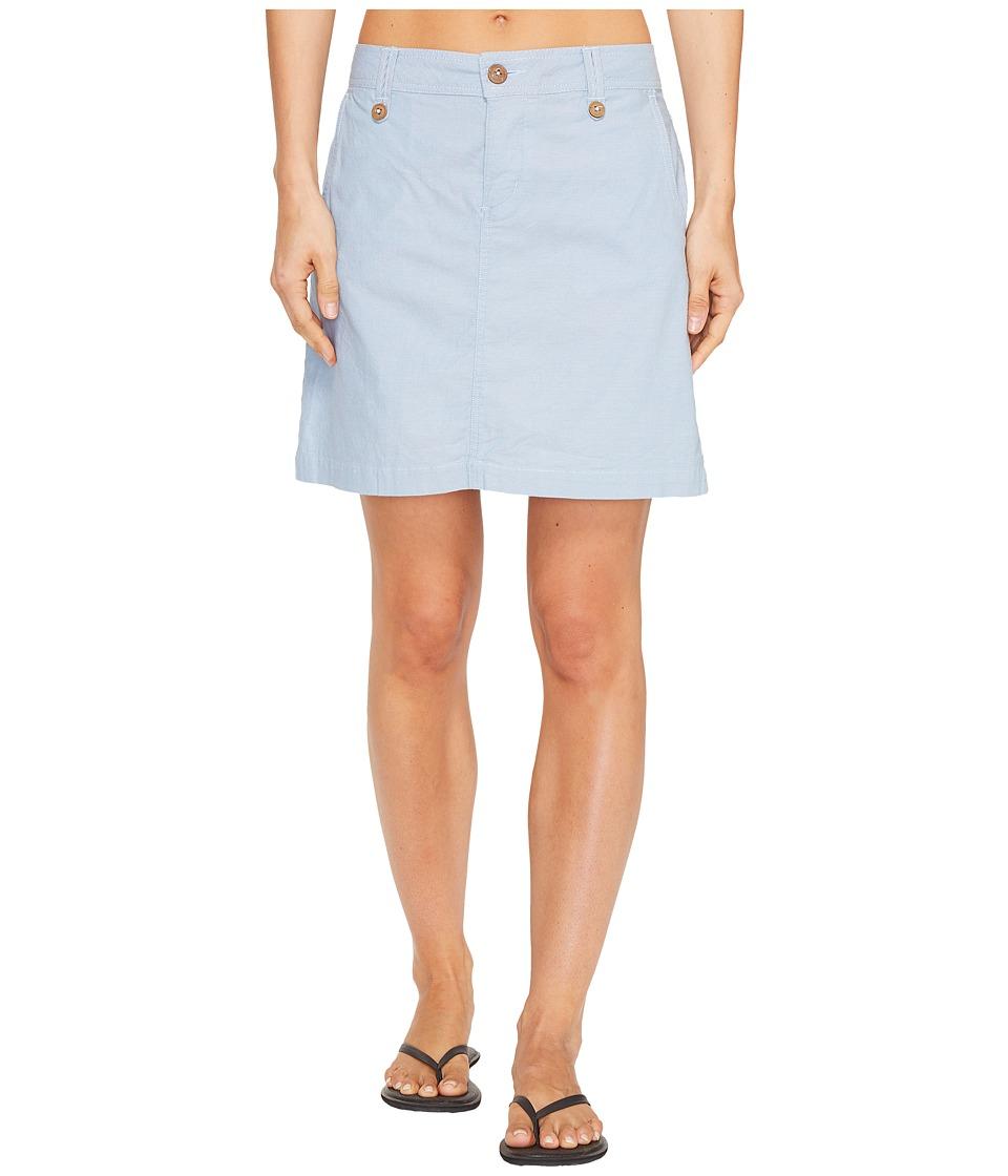 Mountain Khakis Island Skirt (Blue Ridge) Women