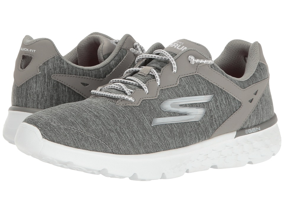 SKECHERS - Go Run 400 (Gray) Women's Running Shoes