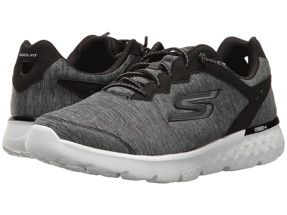 SKECHERS - Go Run 400 (Black/White) Women's Running Shoes