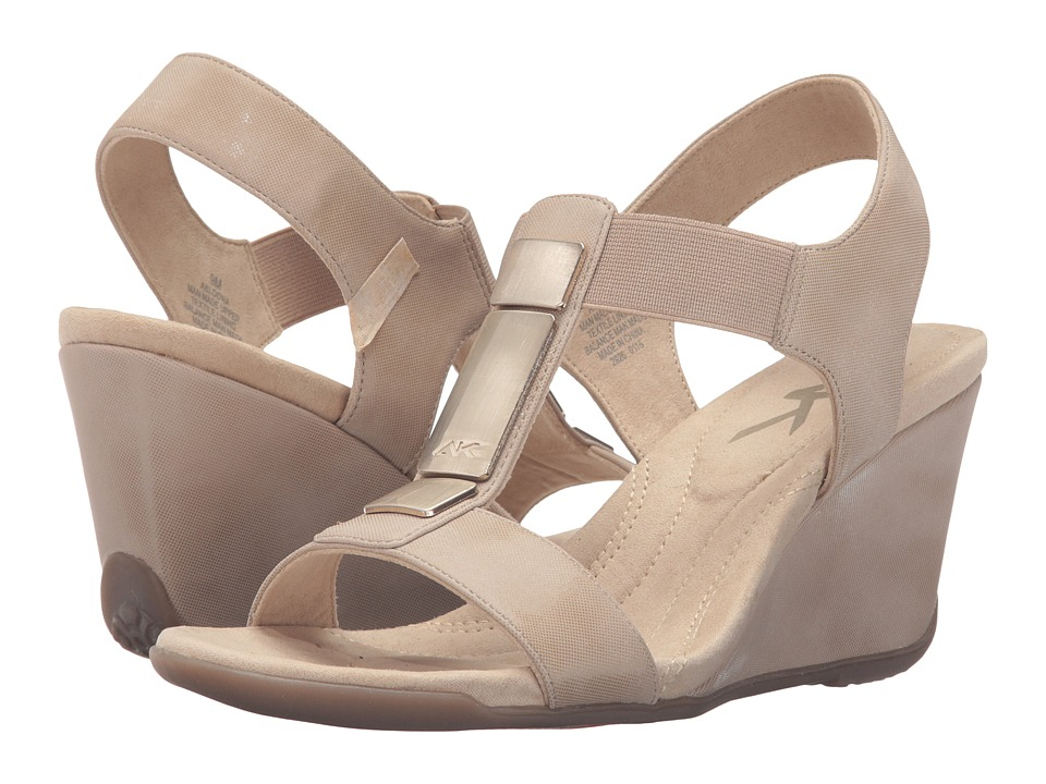 Anne Klein - Loona (Light Natural/Natural Synthetic) Women's Shoes