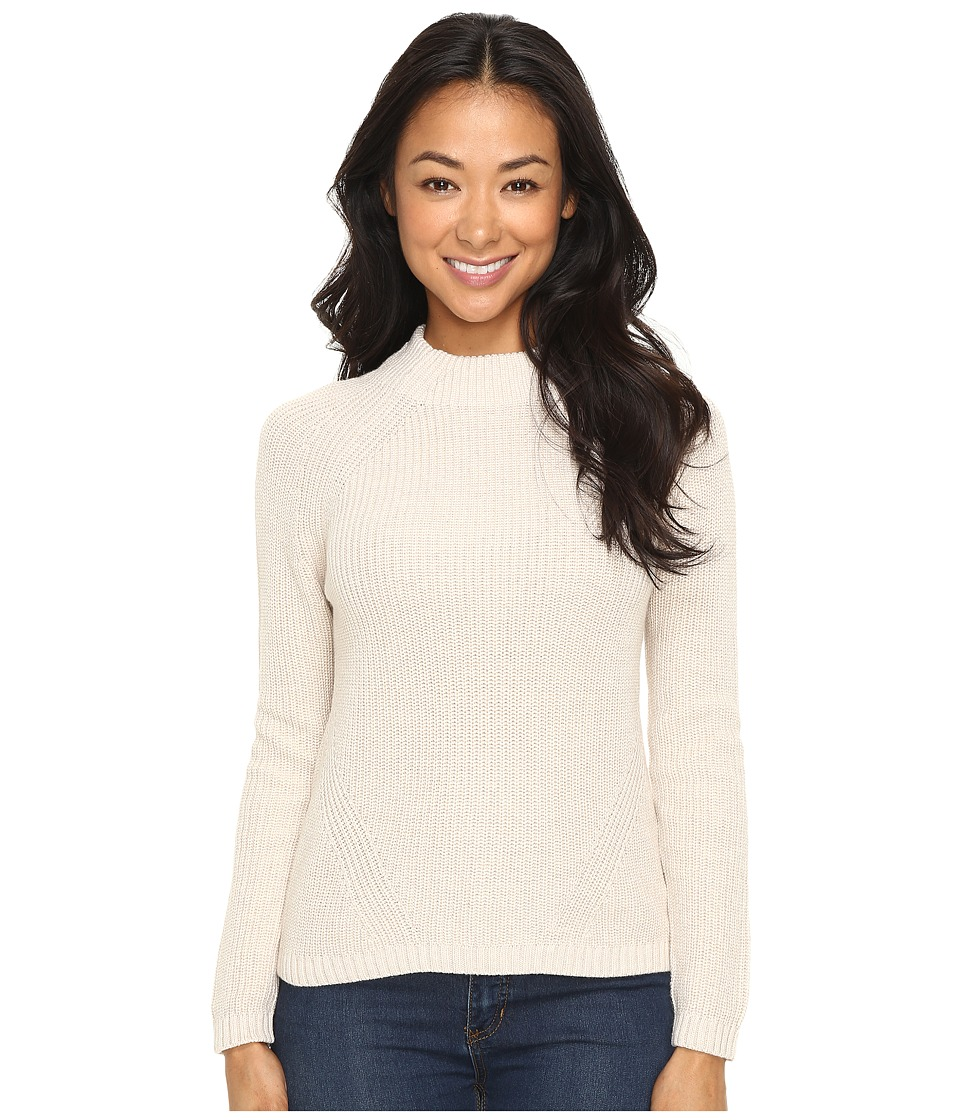 Pendleton - Petite Rachel Pullover (Natural Heather) Women's Long Sleeve Pullover