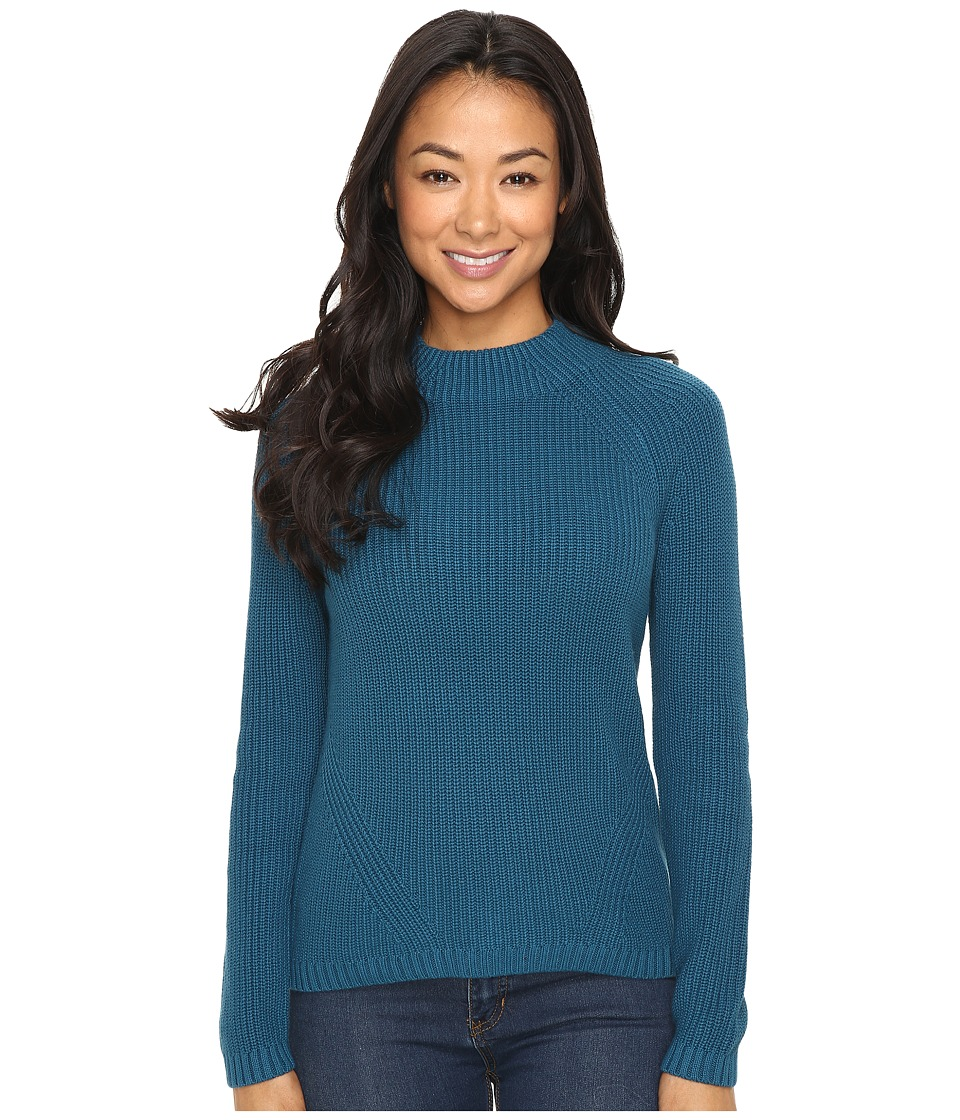Pendleton - Petite Rachel Pullover (Night Sky Heather) Women's Long Sleeve Pullover