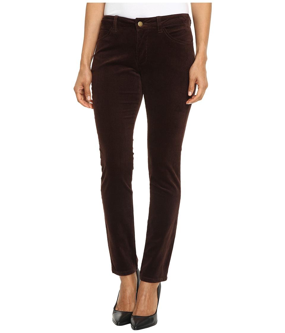 Pendleton - Petite Canyon Cord Pants (Coffee Bean Corduroy) Women's Casual Pants