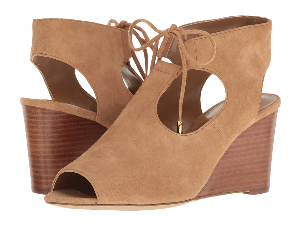 LAUREN Ralph Lauren - Alayna (Camel) Women's Wedge Shoes