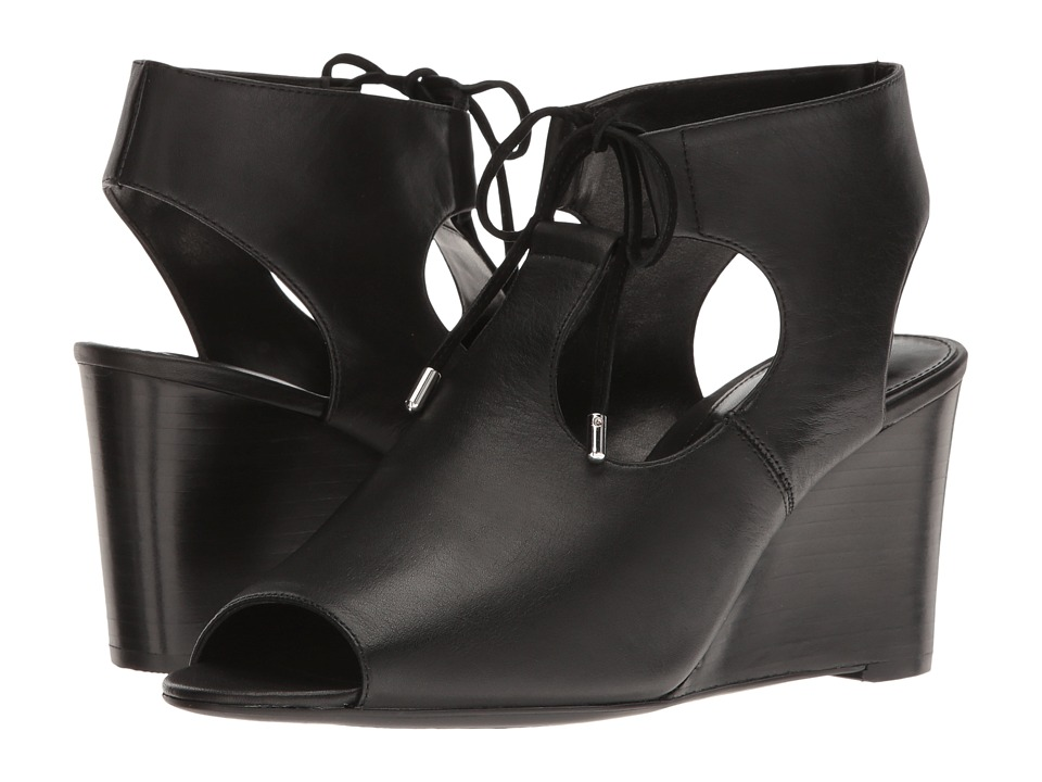 LAUREN Ralph Lauren - Alayna (Black) Women's Wedge Shoes