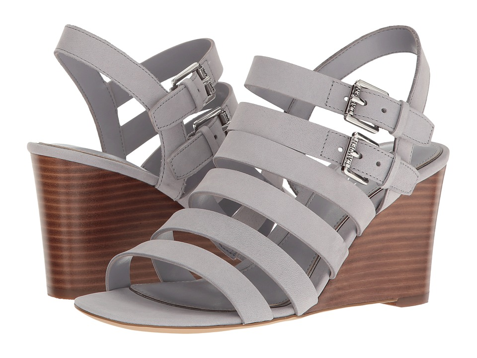 LAUREN Ralph Lauren - Aleigh (Chalk Grey) Women's Wedge Shoes