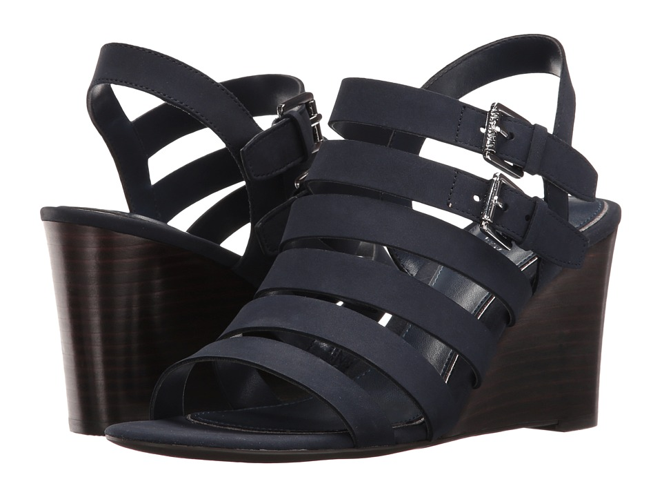 LAUREN Ralph Lauren - Aleigh (Modern Navy) Women's Wedge Shoes