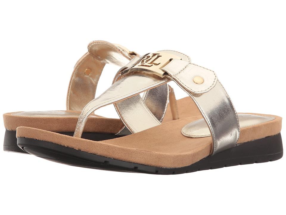 LAUREN Ralph Lauren - Lakin (Platino) Women's Sandals