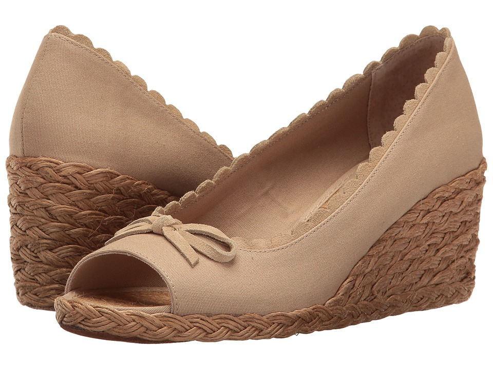LAUREN Ralph Lauren - Chaning (Khaki) Women's Wedge Shoes