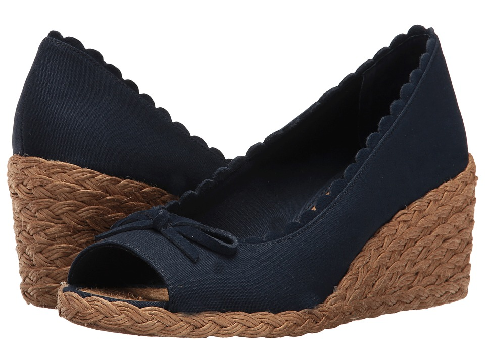 LAUREN Ralph Lauren - Chaning (Modern Navy) Women's Wedge Shoes