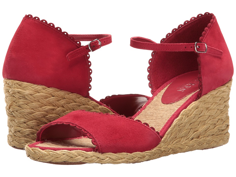 LAUREN Ralph Lauren - Chrissie (Rouge) Women's Shoes