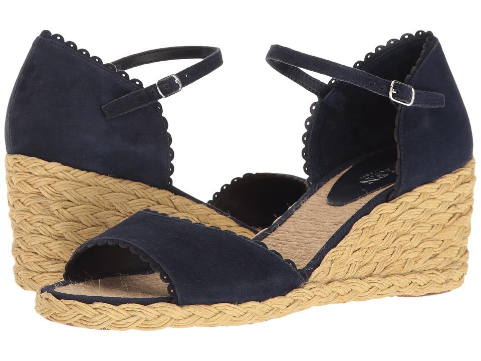 LAUREN Ralph Lauren - Chrissie (Modern Navy) Women's Shoes