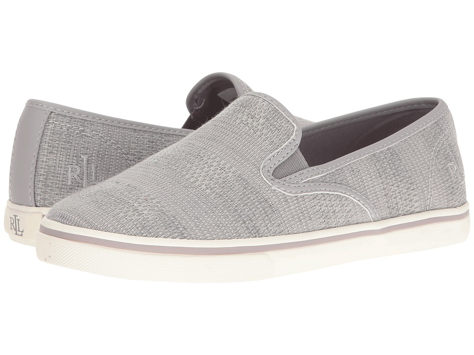LAUREN Ralph Lauren - Janis (Chalk Grey) Women's Slip on Shoes