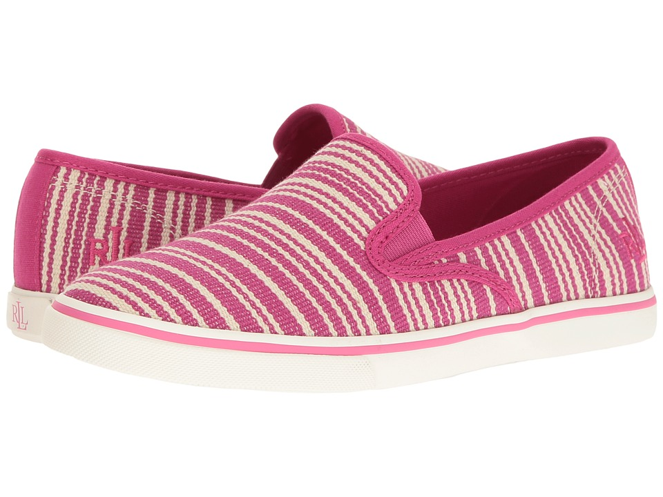 LAUREN Ralph Lauren - Janis (Cruise Pink) Women's Slip on Shoes