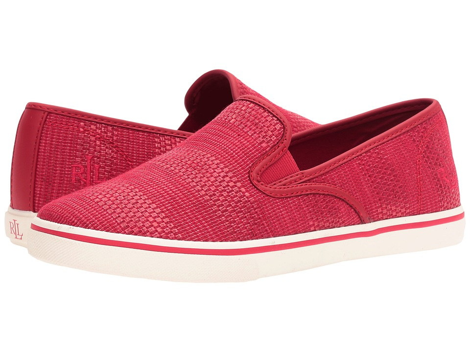 LAUREN Ralph Lauren - Janis (Rouge) Women's Slip on Shoes