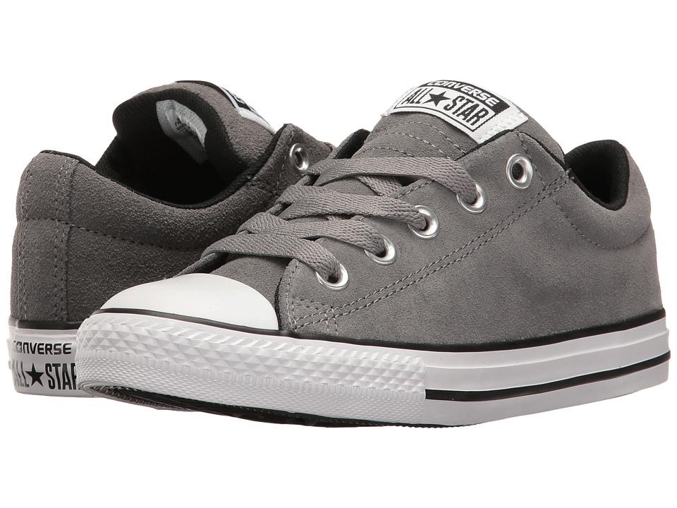 Converse Kids - Chuck Taylor All Star Street Slip (Little Kid/Big Kid) (Mason/Black/White) Boy's Shoes
