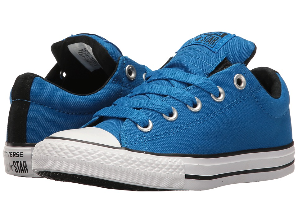 Converse Kids - Chuck Taylor All Star Street Slip (Little Kid/Big Kid) (Soar/Black/White) Boy's Shoes