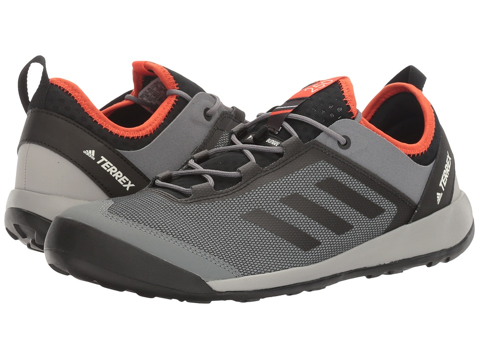 adidas Outdoor - Terrex Swift Solo (Vista Grey/Chalk White/Energy) Men's Shoes