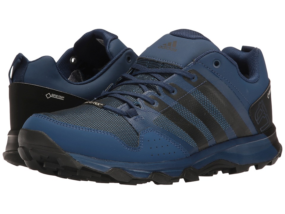 adidas Outdoor - Kanadia 7 Trail GTX (Mystery Blue/Black/Core Blue) Men's Shoes
