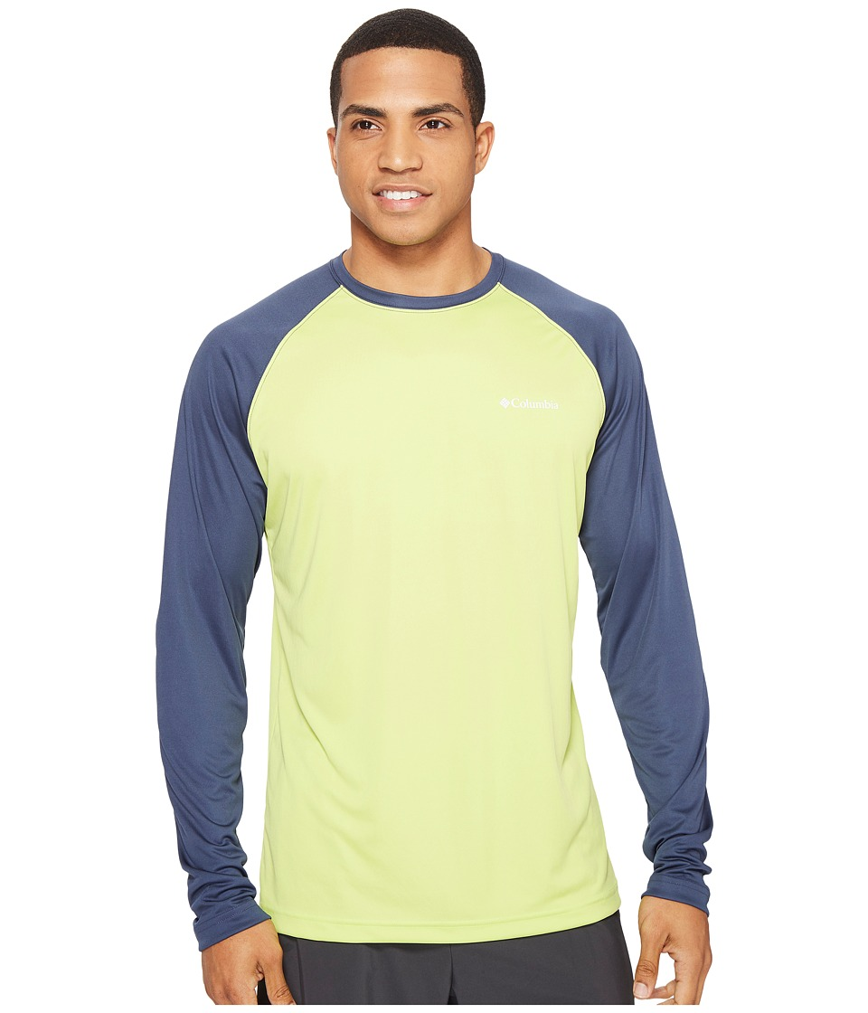 Columbia - Sunset Stream Long Sleeve Shirt (Voltage/Zinc) Men's Clothing