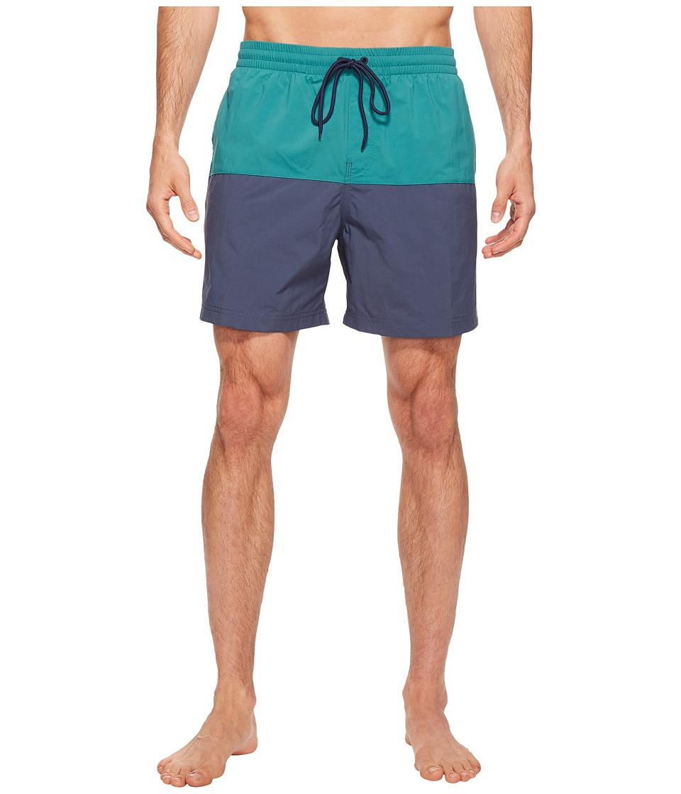 Columbia Lakeside Leisure Shorts II (Waterfall/Zinc) Men