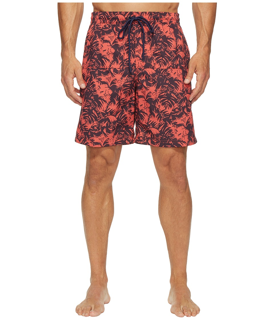Columbia - Lakeside Leisure Printed Shorts II (Sunset Red Island) Men's Shorts