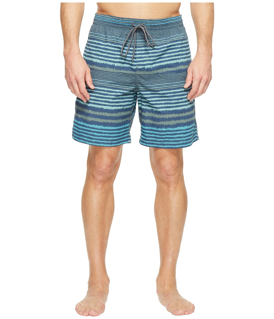 Columbia - Lakeside Leisure Printed Shorts II (Pond Stripe) Men's Shorts