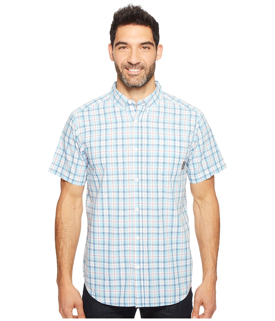 Columbia - Rapid Rivers II Short Sleeve Shirt (Oxygen Mid Plaid) Men's Short Sleeve Button Up