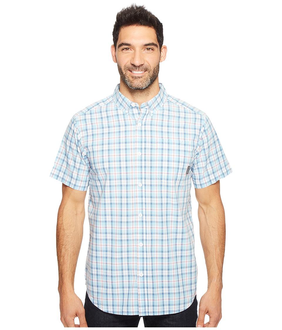 Columbia - Rapid Rivers II Short Sleeve Shirt (Oxygen Mid Plaid) Men's Short Sleeve Button Up