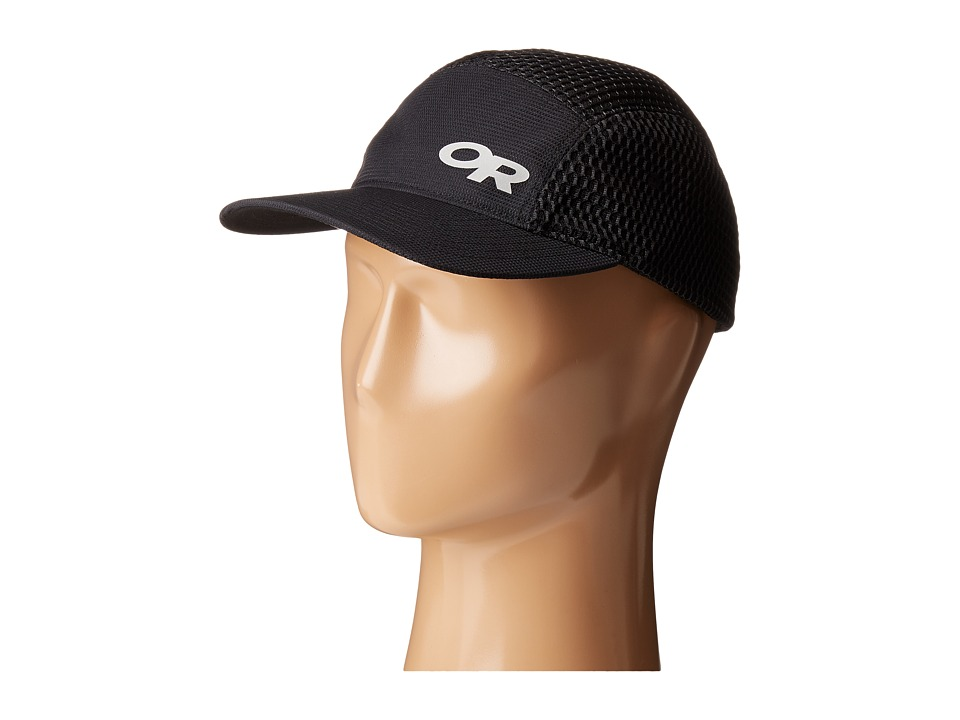 Outdoor Research - Mesh Running Hat (Black) Caps